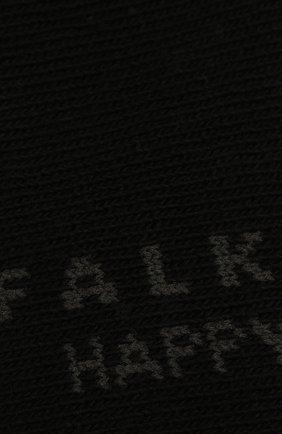 Женские комплект из двух пар носков FALKE черного цвета, арт. 46418 (2 шт) | Фото 2 (Материал внешний: Хлопок)