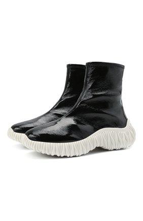 Женские ботинки MIU MIU черного цвета, арт. 5T188D/3LBQ   Фото 1