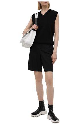 Женские ботинки MIU MIU черного цвета, арт. 5T188D/3LBQ   Фото 2