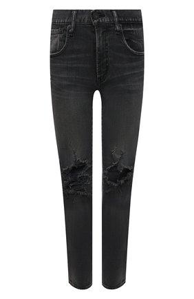Женские джинсы MOUSSY черного цвета, арт. 025ESC12-1120 | Фото 1