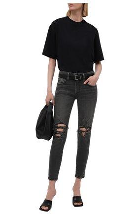 Женские джинсы MOUSSY черного цвета, арт. 025ESC12-1120 | Фото 2