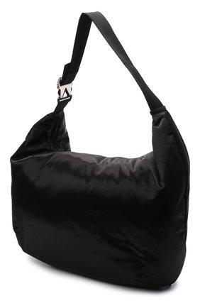 Женский комплект из сумки-шопер и поясной сумки BOTTEGA VENETA черного цвета, арт. 658755/V00R1 | Фото 3 (Сумки-технические: Сумки-шопперы; Материал: Текстиль; Размер: large)