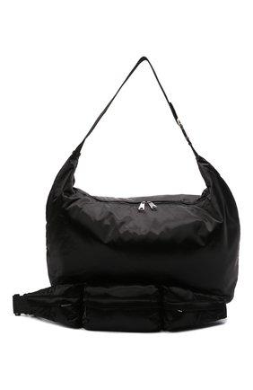 Женский комплект из сумки-шопер и поясной сумки BOTTEGA VENETA черного цвета, арт. 658755/V00R1 | Фото 5 (Сумки-технические: Сумки-шопперы; Материал: Текстиль; Размер: large)