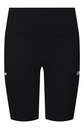 Женские шорты OFF-WHITE черного цвета, арт. 0WVH009V21JER001 | Фото 1