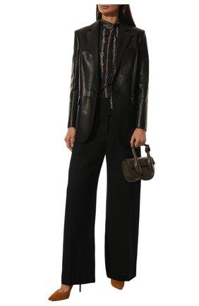 Женские замшевые туфли gianvito 105 GIANVITO ROSSI коричневого цвета, арт. G28470.15RIC.CAMSINN | Фото 2