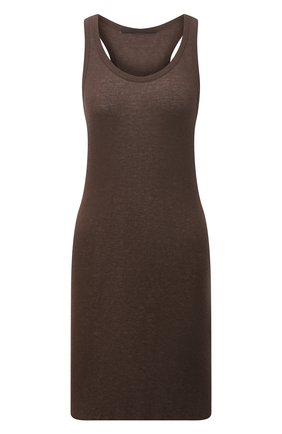 Женский майка из шерсти и вискозы HAIDER ACKERMANN коричневого цвета, арт. 213-3800-234 | Фото 1