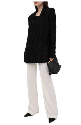 Женский жакет из вискозы HAIDER ACKERMANN черного цвета, арт. 213-1000-176 | Фото 2