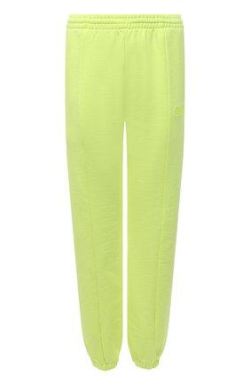 Женские хлопковые джоггеры VETEMENTS светло-зеленого цвета, арт. WA52PA250Y 1606/NE0N YELL0W | Фото 1