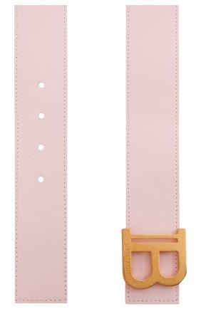 Женский кожаный ремень BALMAIN розового цвета, арт. WN1WJ002/LVTL | Фото 2