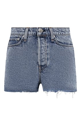 Женские джинсовые шорты RAG&BONE голубого цвета, арт. WDD21S1914B1CA | Фото 1