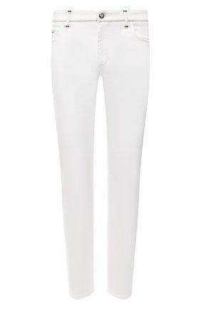 Мужские джинсы ZILLI белого цвета, арт. MCV-00160-WHIT1/B001 | Фото 1