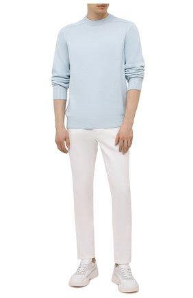 Мужские джинсы ZILLI белого цвета, арт. MCV-00160-WHIT1/B001 | Фото 2