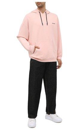 Мужской хлопковое худи RELIGION розового цвета, арт. 11TAPJ80 | Фото 2