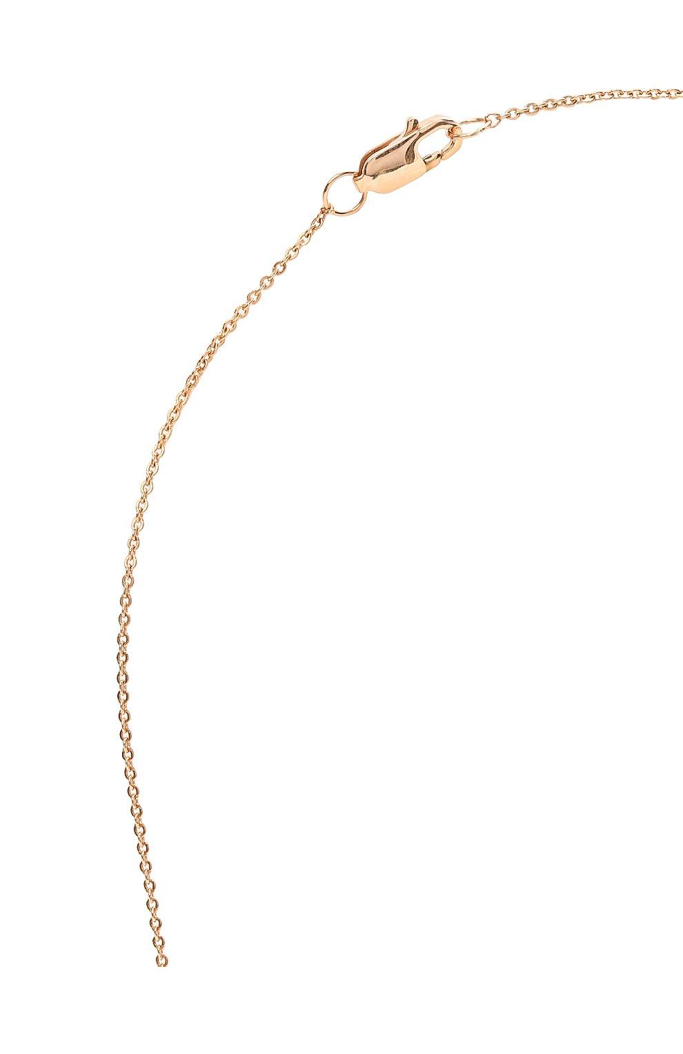 Женское колье J-POINT золотого цвета, арт. ИПГ857.16.250221.10P   Фото 3 (Материал: Золото)