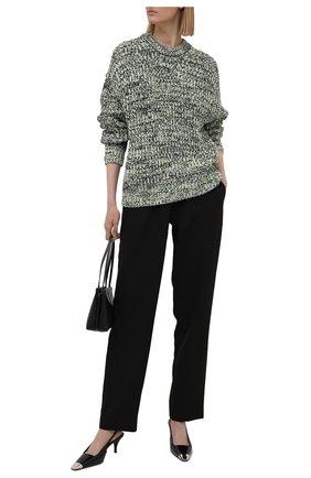 Женские брюки из вискозы SEVEN LAB черного цвета, арт. PR- black   Фото 2