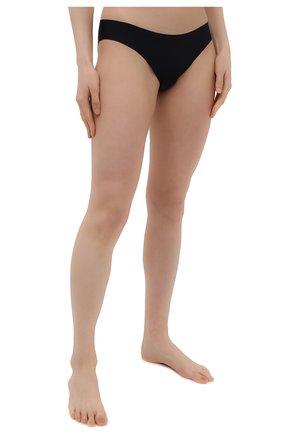 Женские трусы-слипы SIMONEPERELE черного цвета, арт. 10V720 | Фото 2