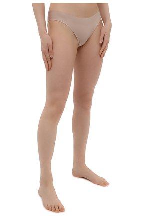 Женские трусы-слипы SIMONEPERELE бежевого цвета, арт. 10V720 | Фото 2