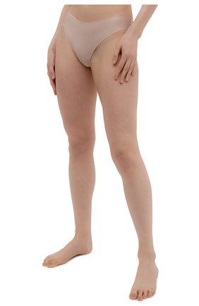 Женские трусы-стринги SIMONEPERELE бежевого цвета, арт. 10V700 | Фото 2