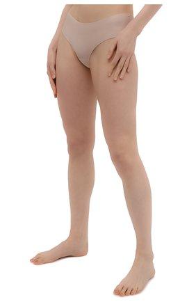 Женские трусы-слипы SIMONEPERELE бежевого цвета, арт. 10V630 | Фото 2