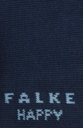 Женские комплект из двух пар носков FALKE синего цвета, арт. 46418 | Фото 2 (Материал внешний: Хлопок)