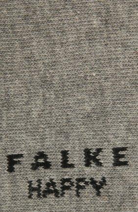 Женские комплект из двух пар носков FALKE светло-серого цвета, арт. 46418 | Фото 2 (Материал внешний: Хлопок)