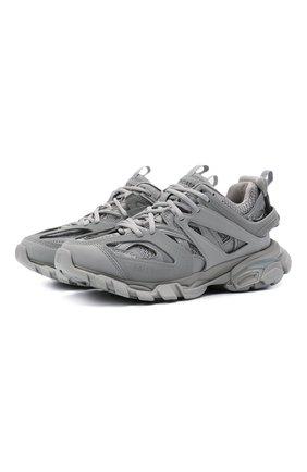 Женские текстильные кроссовки track BALENCIAGA серого цвета, арт. 542436/W2LA1 | Фото 1