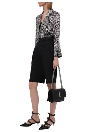 Женские кожаные туфли french bows VALENTINO черного цвета, арт. WW2S0CI3/CCC | Фото 2