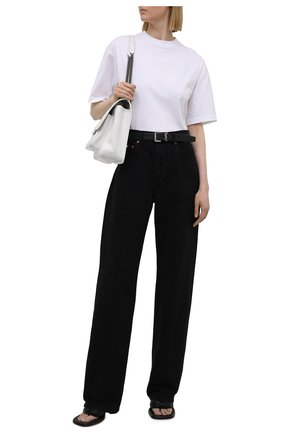 Женские джинсы HERON PRESTON FOR CALVIN KLEIN черного цвета, арт. K10K108240   Фото 2