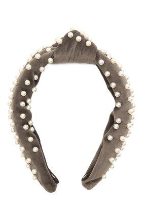 Женский ободок для волос LELE SADOUGHI светло-серого цвета, арт. LS031IG | Фото 1