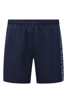 Мужские плавки-шорты BOSS темно-синего цвета, арт. 50437375 | Фото 1