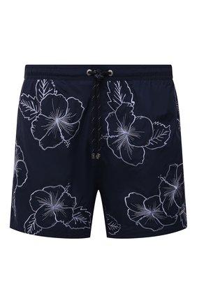 Мужские плавки-шорты BOSS темно-синего цвета, арт. 50426370 | Фото 1