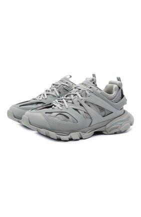Мужские комбинированные кроссовки track BALENCIAGA серого цвета, арт. 542023/W2LA1 | Фото 1