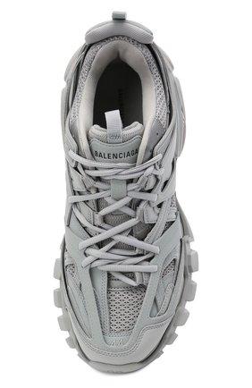 Мужские комбинированные кроссовки track BALENCIAGA серого цвета, арт. 542023/W2LA1   Фото 5 (Материал внешний: Текстиль; Стили: Гранж; Материал внутренний: Текстиль; Подошва: Массивная)