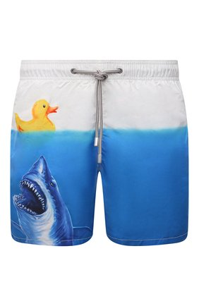 Мужские плавки-шорты MC2 SAINT BARTH разноцветного цвета, арт. STBM GUSTAVIA PLACED PRINT/GUS0009 | Фото 1