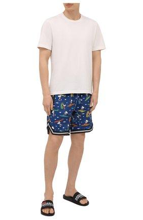 Мужские плавки-шорты MC2 SAINT BARTH темно-синего цвета, арт. STBM MALIBU/MALI001 | Фото 2