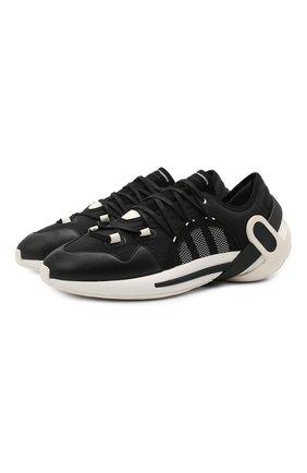 Мужские кроссовки idoso boost Y-3 черного цвета, арт. FZ4524/M   Фото 1 (Подошва: Массивная; Стили: Спорт; Материал внутренний: Натуральная кожа, Текстиль; Материал внешний: Текстиль)