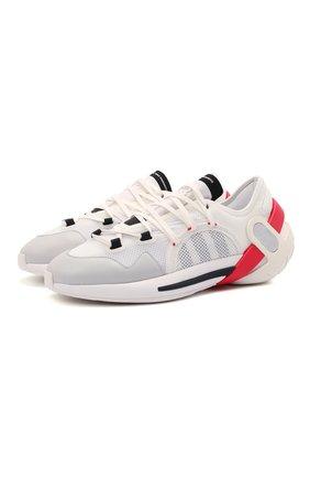Мужские кроссовки idoso boost Y-3 белого цвета, арт. FZ4525/M | Фото 1 (Материал внешний: Текстиль; Материал внутренний: Натуральная кожа; Стили: Спорт; Подошва: Массивная)