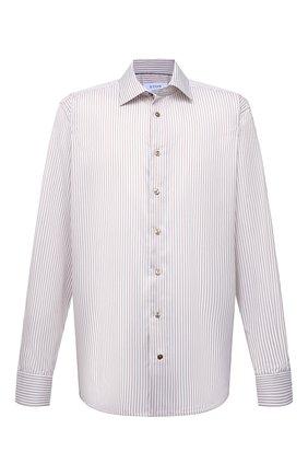 Мужская хлопковая сорочка ETON бежевого цвета, арт. 1000 02202 | Фото 1