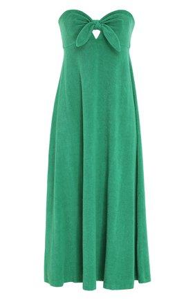 Женское платье ZIMMERMANN зеленого цвета, арт. 9301DTED/ | Фото 1