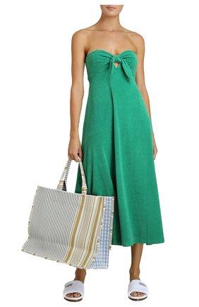 Женское платье ZIMMERMANN зеленого цвета, арт. 9301DTED/ | Фото 2