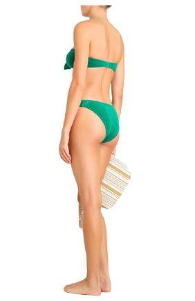 Женский раздельный купальник ZIMMERMANN зеленого цвета, арт. 9372WTED/ | Фото 2