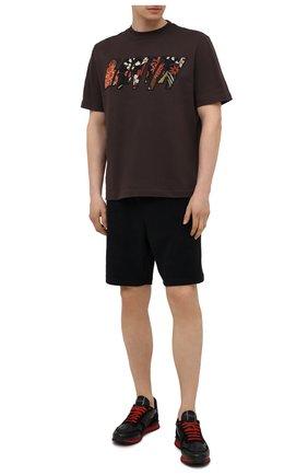Мужские комбинированные кроссовки rockrunner VALENTINO черного цвета, арт. WY2S0723/NSD | Фото 2