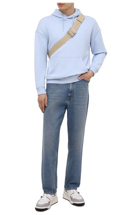 Мужские кожаные кеды one stud VALENTINO белого цвета, арт. WY2S0E71/NWN | Фото 2