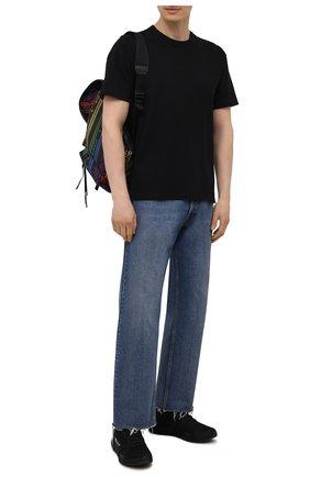 Мужские текстильные кроссовки runner 4d io Y-3 черного цвета, арт. FZ4502/M | Фото 2 (Материал внешний: Текстиль; Стили: Спорт; Материал внутренний: Текстиль; Подошва: Массивная)