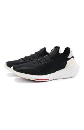 Мужские текстильные кроссовки ultraboost 21 Y-3 черного цвета, арт. H67476/M | Фото 1 (Стили: Спорт; Материал внешний: Текстиль; Материал внутренний: Текстиль)