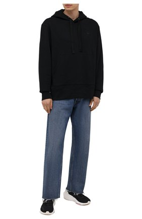 Мужские текстильные кроссовки ultraboost 21 Y-3 черного цвета, арт. H67476/M | Фото 2 (Стили: Спорт; Материал внешний: Текстиль; Материал внутренний: Текстиль)