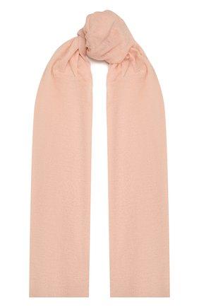 Женский кашемировый шарф hanko BALMUIR розового цвета, арт. 2110003   Фото 1