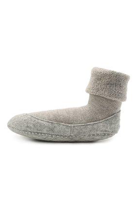 Женские шерстяные носки FALKE серого цвета, арт. 47571 | Фото 2