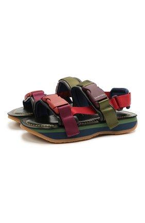 Женские комбинированные сандалии ysee SEE BY CHLOÉ разноцветного цвета, арт. SB36013A/13041 | Фото 1