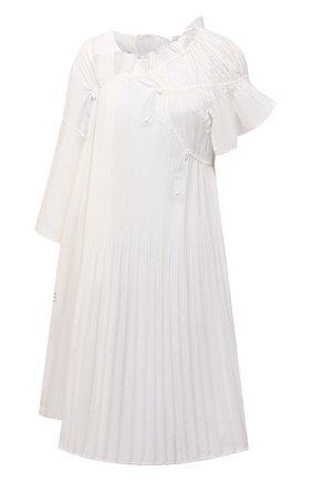 Женская хлопковая туника Y-3 белого цвета, арт. GT5315/W | Фото 1